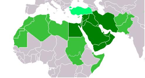 Blizky Vychod, vsetko z Arabie